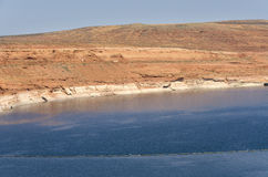 Powell Lake Dam Royalty Free Stock Image