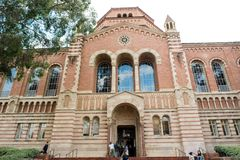 Powell Library at UCLA. Los Angeles, CA: February 21, 2017: Powell Library on the University of California, Los Angeles UCLA campus. UCLA is a public university Stock Images