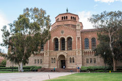 Powell Library at UCLA. LOS ANGELES, CA/USA - July 16, 2016: Powell Library on the University of California, Los Angeles UCLA campus. UCLA is a public university Stock Image