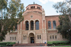 Powell Library at UCLA. LOS ANGELES, CA/USA - July 16, 2016: Powell Library on the University of California, Los Angeles UCLA campus. UCLA is a public university Royalty Free Stock Image
