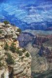 Powell Point, canyon grand, jante du sud Photographie stock libre de droits