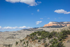 Powell Point Overlook along highway 12 in Utah Royalty Free Stock Images