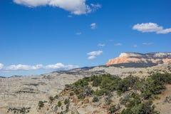 Powell Point Overlook längs huvudväg 12 i Utah Royaltyfria Bilder