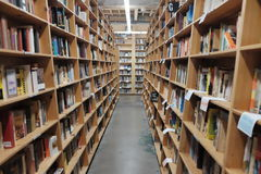 Powell`s City of Books, Portland Royalty Free Stock Photos