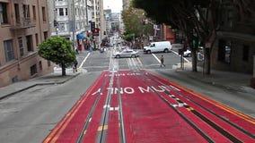 Powell Street in salita video d archivio