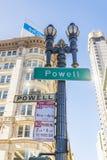 Powell ulica San Fransisco Zdjęcie Royalty Free