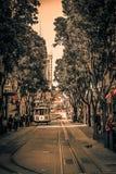 Powell ulica w San Fransisco zdjęcia royalty free