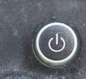 Powen на кнопке Стоковые Изображения RF