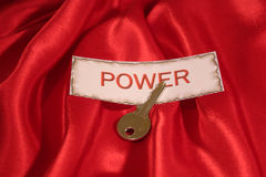 Power. The key to power Stock Photos