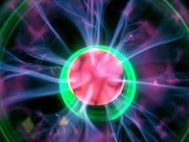 Power. Lighting sphere Royalty Free Stock Image