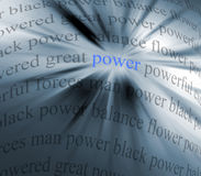 Power abstract stock illustration