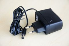 Power adapter for small electronic devices royalty free stock photography