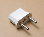 Power Adapters. EU plugs adaptor Royalty Free Stock Images