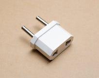 Power Adapters. EU plugs adaptor Royalty Free Stock Image