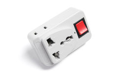 Power Adaptor with Switch Royalty Free Stock Image
