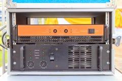 Power amp Stock Photo