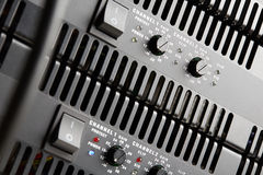 Power amplifiers Royalty Free Stock Photography