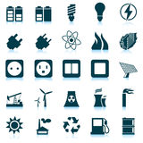 Power And Energy Icon Set Royalty Free Stock Image