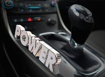 Power Automotive Cockpit Interior Horsepower Energy Royalty Free Stock Images