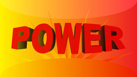 Power background Royalty Free Stock Photo