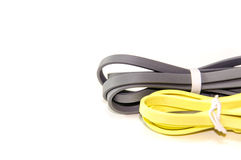Power Bank Cable. For Charging Battery Of Mobile Phone Stock Photo