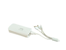 Power bank charger Royalty Free Stock Image