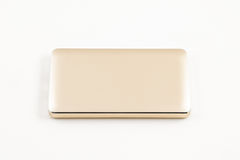 Power bank for charging mobile devices. Stock Photography