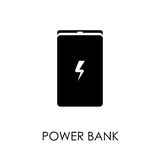 Power bank icon symbol flat style vector illustration Stock Image