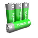 Power batteries Royalty Free Stock Photos