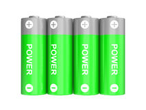 Power batteries Stock Images