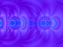 The power of blue. A partly 3d background in blue, purple and a bit pink. Can be used as a  background Stock Photos