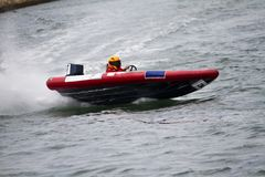 Power boat racing Royalty Free Stock Photography