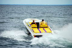 Power Boating Royalty Free Stock Image