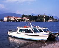 Power boats, Stresa, Lake Maggiore, Italy. Stock Photos