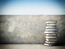 Power of books Royalty Free Stock Photo