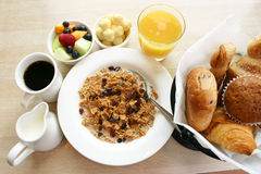 Power Breakfast Royalty Free Stock Image