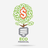 Power Business Environment. Financial and business investment Royalty Free Stock Image