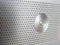 Power Button. Powerbutton of a laptop Stock Photos