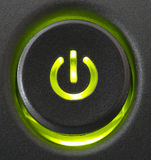 Power on button Royalty Free Stock Photo