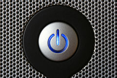 Power button Royalty Free Stock Photography