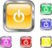 Power Button. This is an internet power button Royalty Free Stock Image