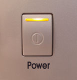Power button on royalty free stock photography