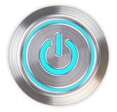 Power Button. Stock Photo