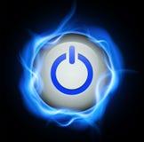 Power button design Royalty Free Stock Photos