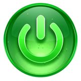 Power button icon. Stock Image