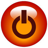 Power button or icon Stock Image