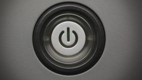Power button stock video