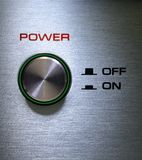 Power Button On-Off Royalty Free Stock Photography
