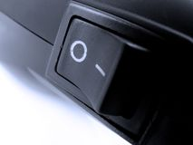 Power button in off mode Royalty Free Stock Photography