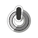 Power button symbol isolated icon Stock Images